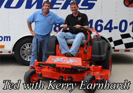 Ted and Kerry Earnhardt